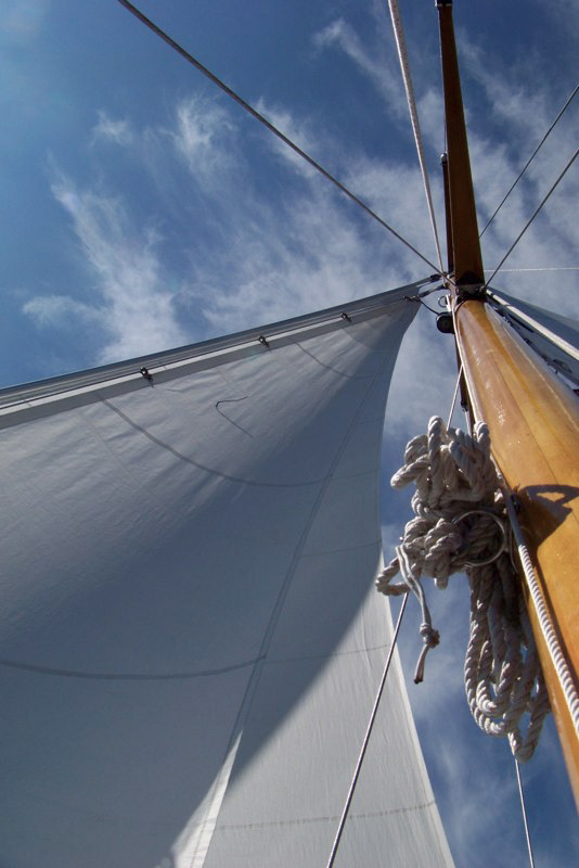 sail repair in the san juan islands