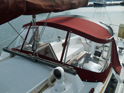 marine boat new canvas covers or canvas repairs san juan islands